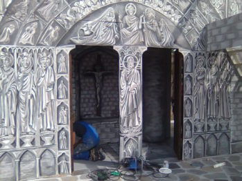 Set painting-Notre Dame